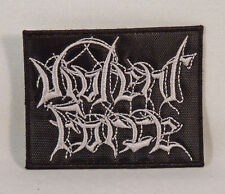 VIOLENT FORCE Band Logo (Embroidered Small Patch) (New)