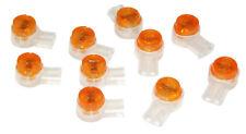 50 x 2 wire jelly crimp telecom connectors 8a Dropwire/broadband/telephone