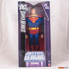 Justice League Unlimited Superman 10 inch 25cm figure DC Super Heroes purple box
