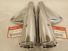 Honda CB 750 Four K2 ( K6 ) Chrom Lampenhalter Set
