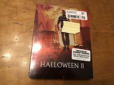 Halloween II Blu ray*Scream Factory*Steelbook*Sealed/NEW*OOP*Limited Ed*