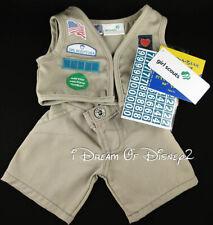 Build-A-Bear GIRL SCOUT CADETTE SENIOR AMBASSADOR UNIFORM Teddy Clothes NWT