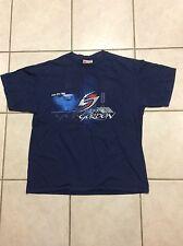 Jeff Gordon DuPont Flames Monte Carlo SS NASCAR T Shirt L exc