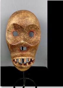 Old Tribal Rare  Skeleton Mask     ---  Congo  BN 66