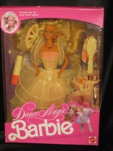 1989 Vintage DANCE MAGIC Barbie Doll Ballet to Disco Dresses #4836  NRFB