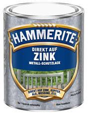 750ml Hammerite direkt auf Zink Tiefgrün