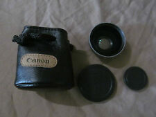 Canon WD-28 28mm 0.7x Wide Angle Converter Lens with Case in EUC