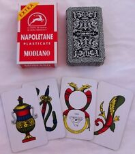 Modiano Napoletane Italian Playing Cards Briscola Carte Italiani Scopa Brand NEW