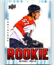(HCW) 2008-09 Upper Deck MVP #365 Michael Frolik NHL NM-MT RC Rookie 04178