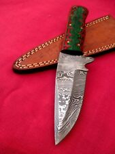 Custom hand made Damascus steel hunting knife  AR 0085