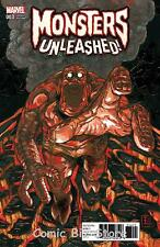 MONSTERS UNLEASHED #3 (OF 5) (2017) 1ST PRINTING Q-HAYASHIDA VARIANT COVER