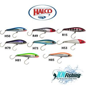 "HALCO ""SLIDOG 150"" Hard Lures Trolling Casting Boat Fishing Tuna Albacore 85gr"