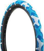 Cult X Vans Tire - 14 x 2.2, Clincher, Wire, Blue Camo/Black