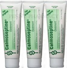Calmoseptine Ointment Tube - 4 oz ( 3 pack ) FRESH PHARMACY STOCK!