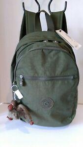 NWT Kipling Challenger Backpack, Jaded Green Tonal