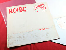 """AC/DC  FOR THOSE ABOUT TO ROCK  12"""" Maxi Atlantic SAM 143 UK 1981 Promo"""