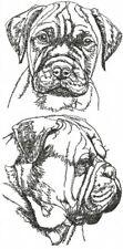 Bullmastiff Dog Embroidered Kitchen Chef Apron Personalized Free