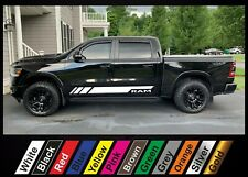 2pcs sticker for Dodge RAM 1500 2500 3500 graphics side stripe decal sticker #12