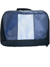 Timbuk2 Blue Grey Gray Messenger Briefcase Padded Laptop Shoulder Bag 15