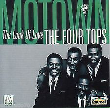 THE FOUR TOPS : THE LOOK OF LOVE - BRAND NEW AND SEALED CD