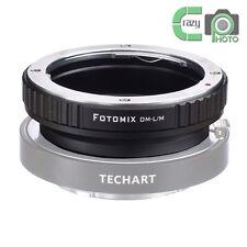 Olympus OM Lens to Leica L/M M9 M8 M7 M6 M5 Camera Adapter for TECHART LM-EA 7