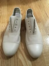 Y's Yohji Yamamoto Ivory Loafer Oxford Shoes Made In Japan
