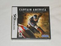 NEW Captain America Super Soldier Nintendo DS Game BRAND NEW SEALED Sega USA