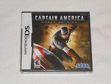 NEW Captain America Super Soldier Nintendo DS Game BRAND NEW SEALED Sega USA