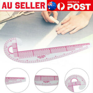 Plastic French Curve Metric Sewing Ruler Measure For Dressmaking Tailor 58*40cm