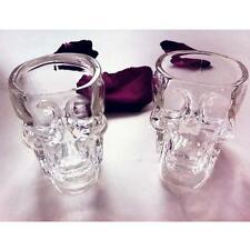 New Cocktail Skull Head Vodka Whisky Shot Glass potable Verrerie Home Bar AT