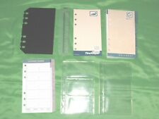Compact 1 Year Undated Refill Tab Page Lot Day Runner Planner Franklin Covey 190