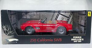 """Hotwheels Elite 1/18 Ferrari 250 California SWB """"Ferris Bueller's Day Off"""""""