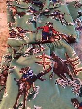 Nick And Nora Pajamas Boys Size 10-12 Cowboy NICE