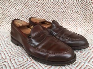 ALDEN #6765 Ravello Shell Cordovan Leather Penny Loafer Sz-9.5 C/E