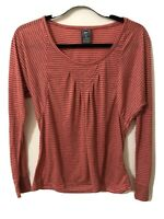 REI Women's Long Sleeve Top Striped XSMALL Casual Active Activewear