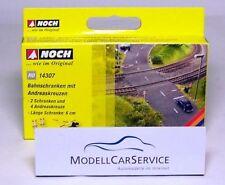 Noch (h0) 1430 Bahnschranken con Andreaskreuzen - Laser-cut-bausatz