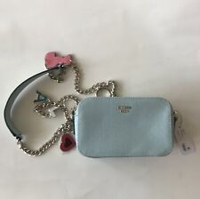 Guess Crossbody Bag Purse NEW! Baby Blue Retail $78 NOW 50% OFF