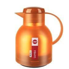 Samba, Caraffa Termica 1 Litro Arancione, Plastica, Emsa