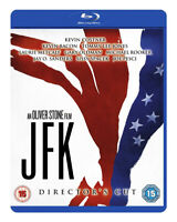 JFK Director's Cut [Blu-ray] (1991) Oliver Stone, Kevin Costner, Kennedy Movie