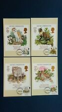 1986 EUROPA. NATURE CONSERVATION PHQ CARDS WITH A NORTH DEVON FIRST DAY C.D.S