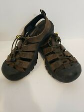 Mens Keen Newport  Size 9 Brown Leather Waterproof Sandals