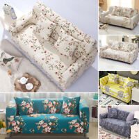 1-4 Sofa Covers Recliner Slipcover Stretch Elastic Settee Couch Protector Fit UK
