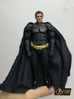 1:12 Christian Bale Batman Head Sculpt For shf mafex Action Figure Body Toy