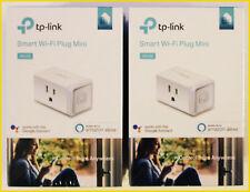 New 2pk TP-Link HS105 Smart Wi-Fi Plug Mini, Works w/ Alexa & Google Assistant