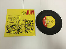 "July  ‎– Hello Who's There? Essex Records 10 117 VINYL 7"" EX-"