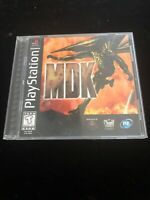MDK Sony Playstation 1 PS1 Game Complete Black Label