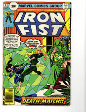 Iron Fist #6 (8/76) G/VG (3.0) 30 Cent Variant! Byrne! Great Bronze Age!