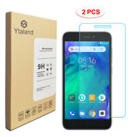 Ytaland 2Pcs 9H Tempered Glass Screen Protector Film Guard For Xiaomi Redmi Go