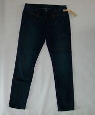 c0deb1cb2de6 Michael Kors SKINNY ZIPPER Pocket Stellar Wash Jeans Womens Size 6