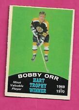 1970-71 OPC # 246 BRUINS BOBBY ORR HART EX-MT CARD (INV# J0256)